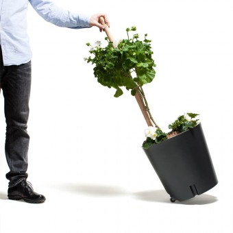 "urbanature mobiler Pflanzkübel – ""Plant Trolley"""
