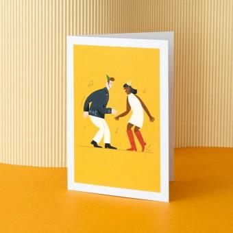 """Grußkarten-Set """"Tanzpaar""""- Nachhaltige Geburtstagskarten"""