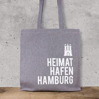 Bow & Hummingbird Baumwoll-Beutel Heimathafen Hamburg