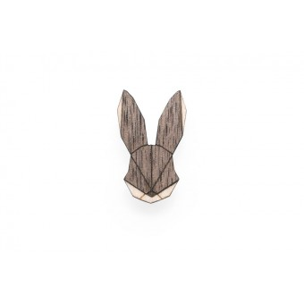 Hare Brooch von BeWooden