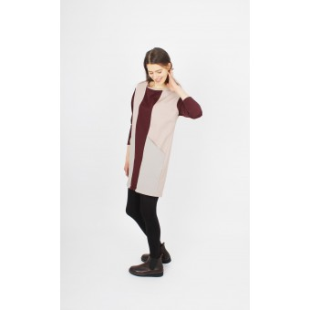 ZITAT Hayuk Dress Bordeaux