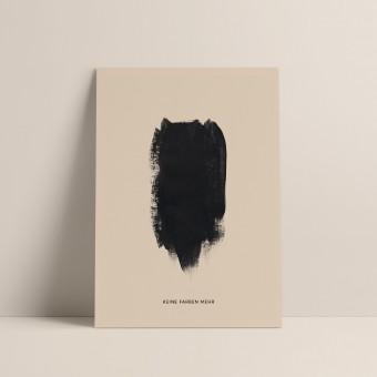 Keine Farben | 3er Set Klappkarten inkl. Umschlag | heartfelt paper & co