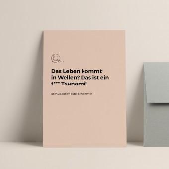 Rettungsring | 3er Set Klappkarten inkl. Umschlag | heartfelt paper & co
