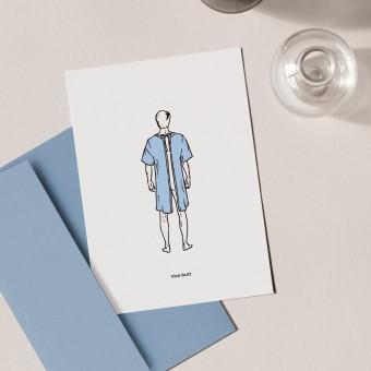 Nice Butt | 3er Set Klappkarten inkl. Umschlag | heartfelt paper & co