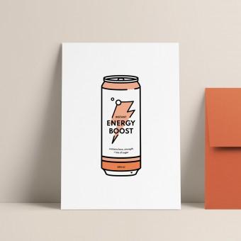 Energy | 3er Set Klappkarten inkl. Umschlag | heartfelt paper & co