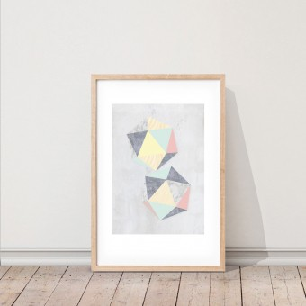 KAMI. poster – hexagon