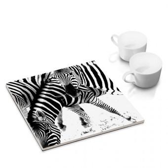 COGNOSCO Topfuntersetzer Zebra