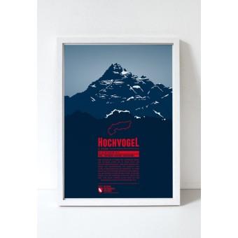 """Druck """"Hochvogel"""" von Marmota Maps"""