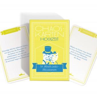 Chaoskarten Hochzeitsspiel