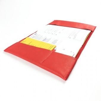 Franziska Klee Kinderuntersuchungsheft Eve // Rot