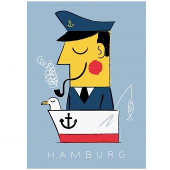 Human Empire Hamburg Kapitän Poster (Din A3)