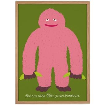 Human Empire Bananas Poster (59,4x84cm)