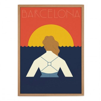 Human Empire Barcelona Poster (50x70cm)