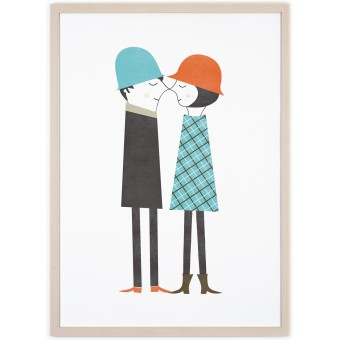 Human Empire Couple Poster (50x70cm)