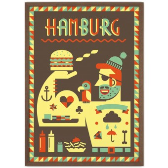 Human Empire Hamburg #2 Poster (50x70cm)