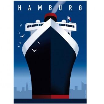 Human Empire Hamburg Hafen Poster (50x70cm)