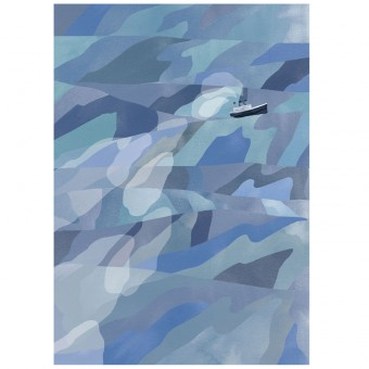 Human Empire Ocean Poster (50x70cm)