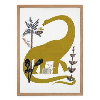 Human Empire Dinosaur Poster (50x70cm)