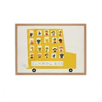 Human Empire Schoolbus Poster (50x70cm)