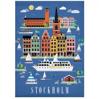 Human Empire Stockholm Poster (50x70cm)