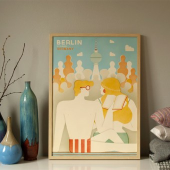 Human Empire Berlin Poster (50x70cm)