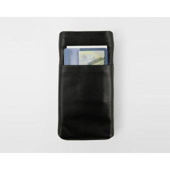 Lapàporter iPhone 6 Card Case Smooth - schwarz