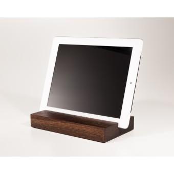 WOOD U? Halterung / Halter für iPad und Tablet aus Räuchereiche