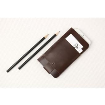 Alexej Nagel Slim Fit Hülle für iPhone 6 Plus / 6S Plus / 7 Plus aus Premium Leder - Braun [BR]