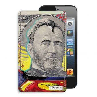 "TYVEK® CASE ""MAN OF PAPER"" by Mister Malik (für iPhone)"