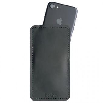 hecho. Ledertasche für iPhone 6s, 7 & 8 (Etui, Tasche, Hülle)