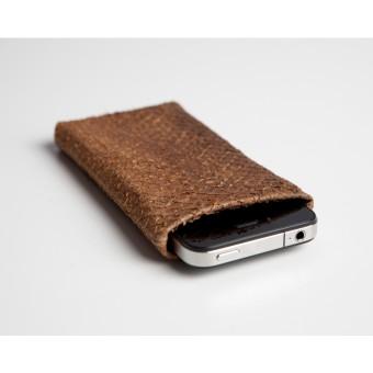 Lapàporter iPhone 6 Case Lachsleder (cognac)