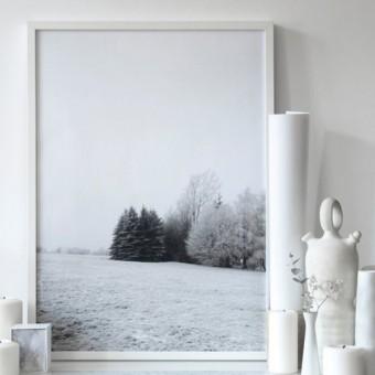 """nahili ARTPRINT/POSTER """"winter wonderland"""" Schnee Landschaft (DIN A1/A3 & 50x70cm)"""