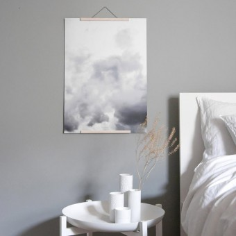 "nahili ARTPRINT/POSTER ""head in the CLOUDS"" Wolken Fotografie (DIN A1/A3 & 50x70cm)"