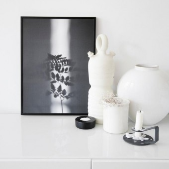 """nahili ARTPRINT/POSTER """"ray of SUNLIGHT"""" Pflanzen Farn Fotografie (DIN A1/A3 & 50x70cm)"""