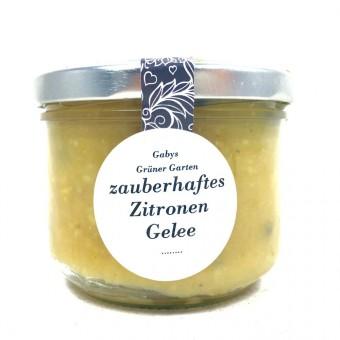 Gabys Grüner Garten zauberhaftes Zitronen Gelee 250g