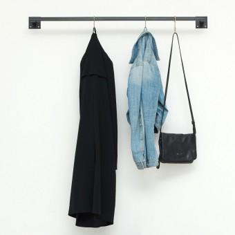 various Kleiderstange im Industrial Style skandinavisch - geschweisst & pulverbeschichtet - Garderobe SIMPLE LINE - div. Größen