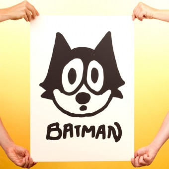 Ingmar Batman Art Print