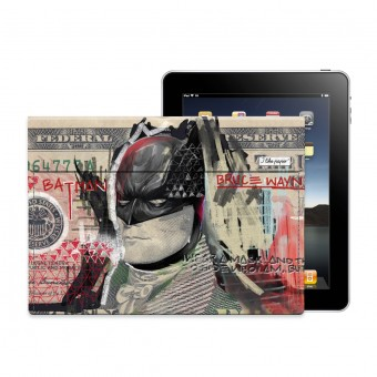 "TYVEK® CASE ""THE DARK NIGHT"" by Mister Malik (für iPad)"