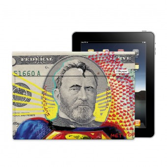 "TYVEK® CASE ""MAN OF PAPER"" by Mister Malik (für iPad)"