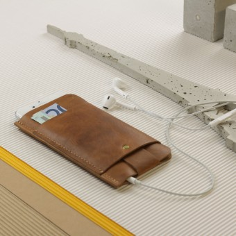 Alexej Nagel Slim Fit Hülle für iPhone 6 / 6S aus Vintage Leder [vintage]