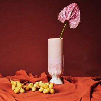mused - VASE JUNA - light pink