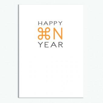 """sonst noch was? Grußkarte """"Happy New Year"""""""