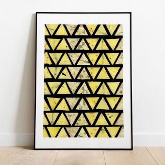 Käse Poster/Kunstdruck A3 von Max Faber