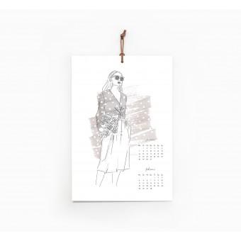 Kruth Design KALENDER 2019 / FASHION