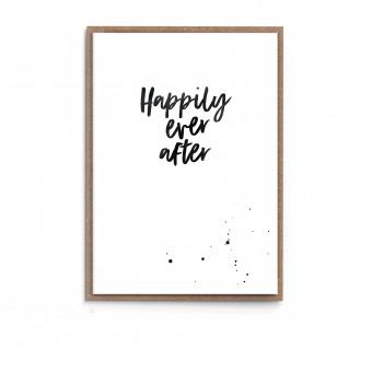 "sonst noch was? Grußkarte ""Happily Ever After"""
