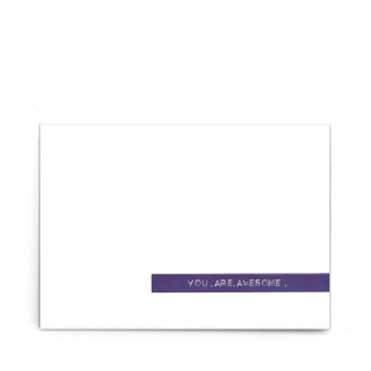 """sonst noch was? Postkarte """"you are awesome"""" (3er Set)"""