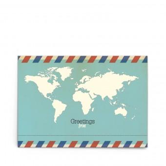 sonst noch was? Universal Postkarte für Globetrotter (3er Set)