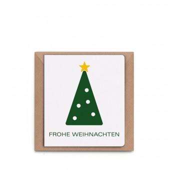 sonst noch was? minimalistische Weihnachtskarte