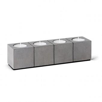 """Korn Produkte Kerzenleuchter """"BLOCKvier""""  für Teelichter"""