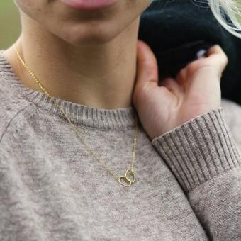 Anoa Kette Ella 925 Sterling Silber vergoldet